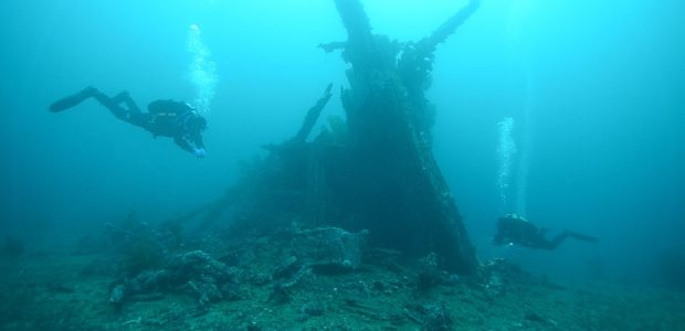 Easter dive – The wreck of Belgica