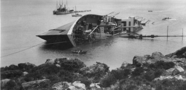 S/S Dresden – The giant wreck at Karmøy